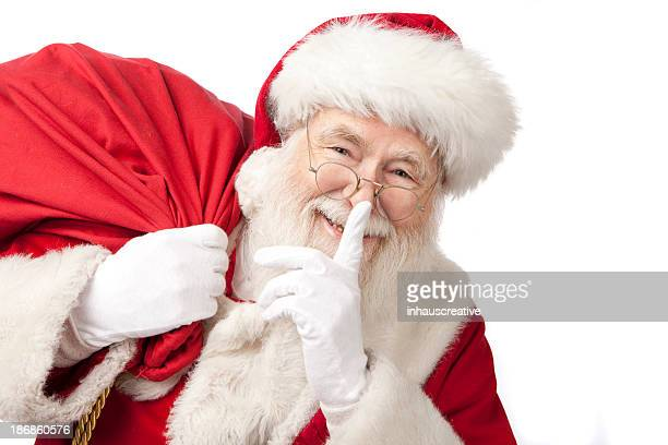 Pictures of Real Santa Claus Carrying A Gift Bag