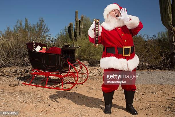Des photos de vrais Santa Claus lost yelling pour Rudolph