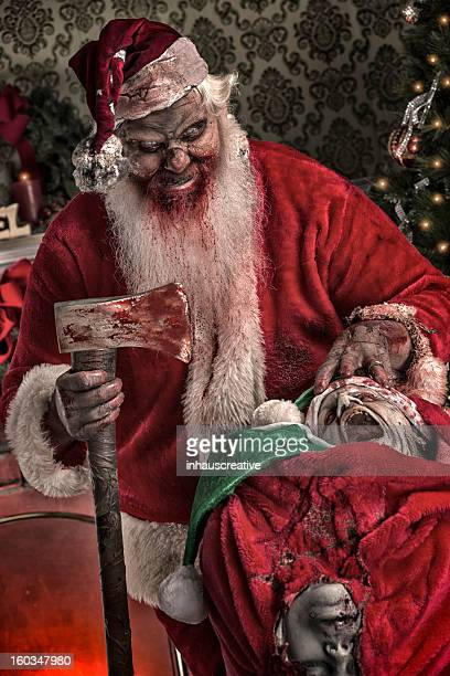Pictures of Real Serial Killer Santa Zombie