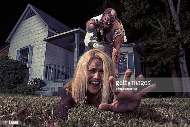 Pictures of Real Zombie Victim grabbing for help