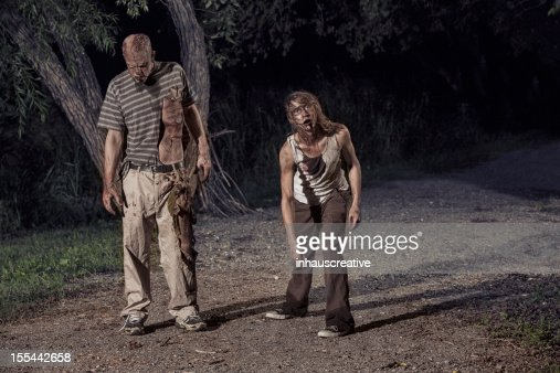 Pictures of Real Zombies in the woods