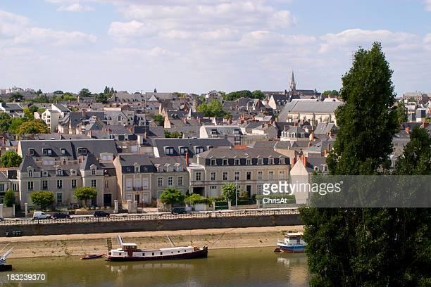 Malerische Frankreich-Angers
