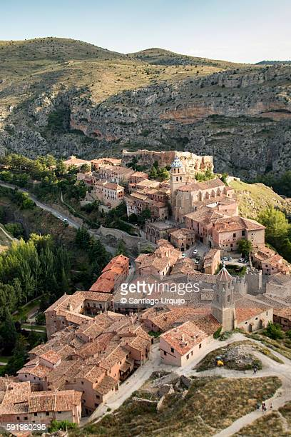 Picturesque medieval town of Albarracin