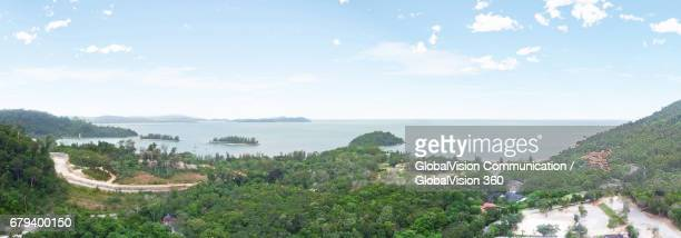 Picturesque Panorama of Nature in Langkawi, Malaysia