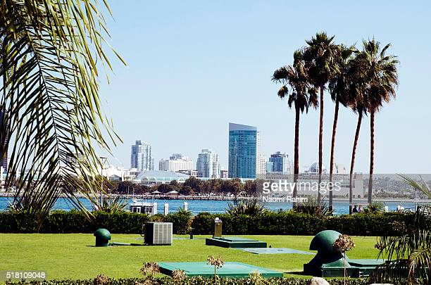 Picturesque view of San Diego from Coronado Island