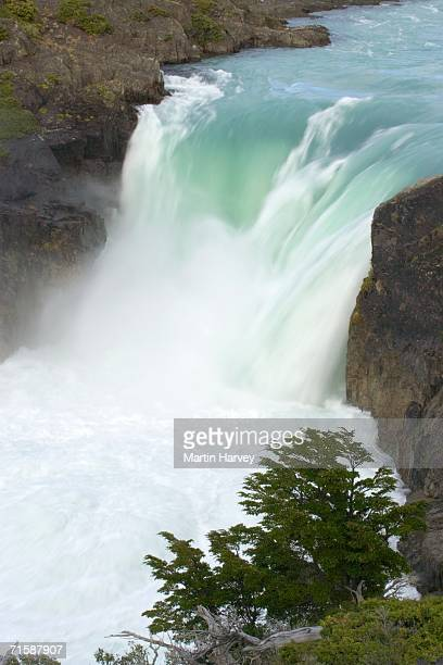 Picturesque Waterfall at Salto Grande