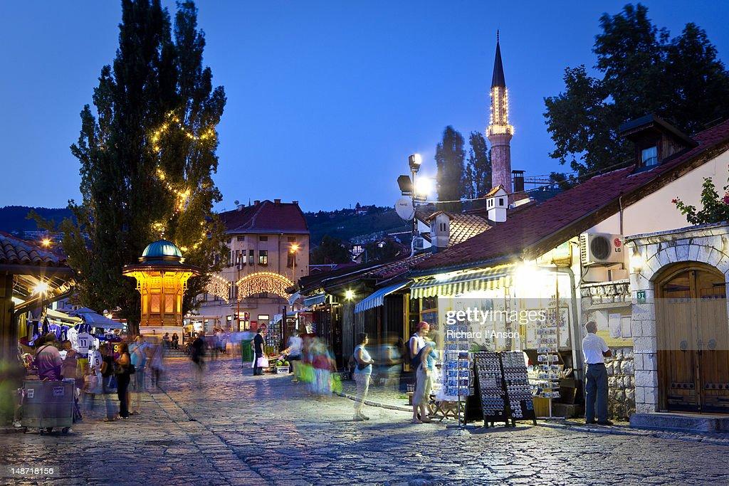 Sarajevo's Turkish Quarter
