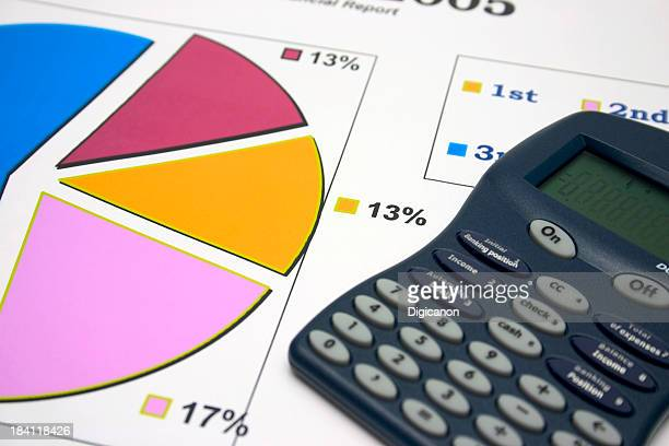 Pie Chart with Calculator