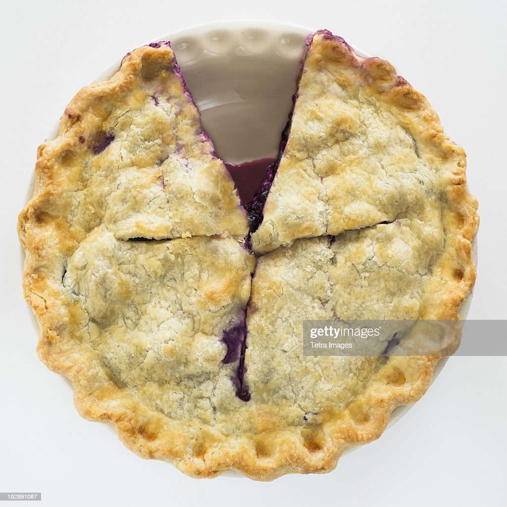 Pie with missing slice
