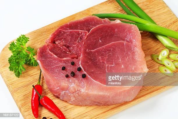 Piece of beef shoulder