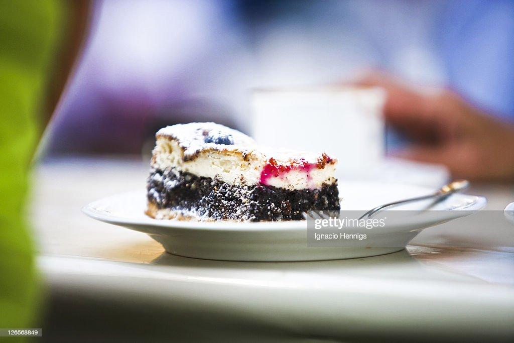 Piece of cake : Stock Photo