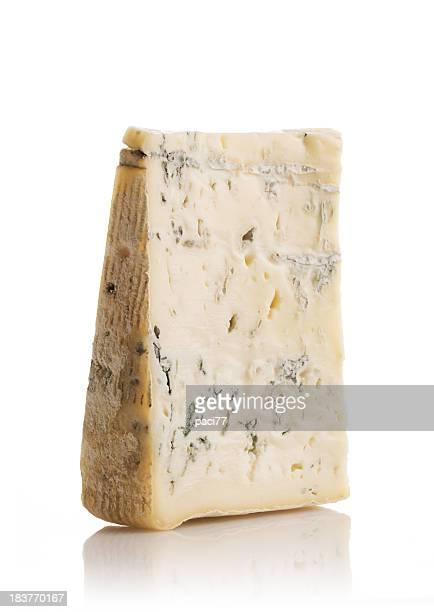 Morceau de fromage Gorgonzola (Tracé de détourage