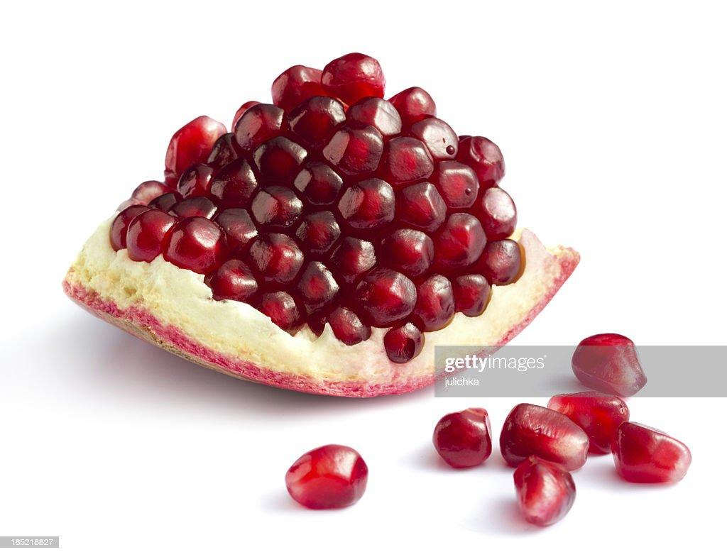 Piece of pomegranate