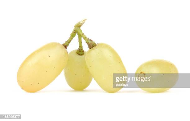 Pieces of grape