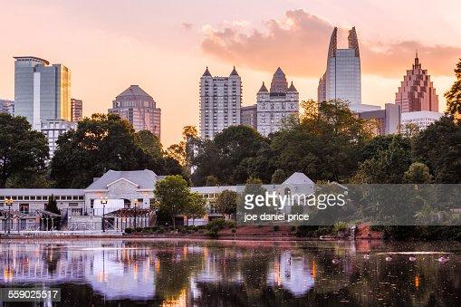 Piedmont Park, Atlanta, Georgia, America
