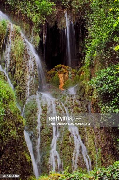 Piedra River, Waterfall at Monasterio de Piedra, Spain