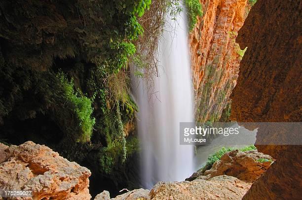 Piedra RiverCola de Caballo Waterfall at Monasterio de Piedra Nuevalos Zaragoza province Aragon Spain