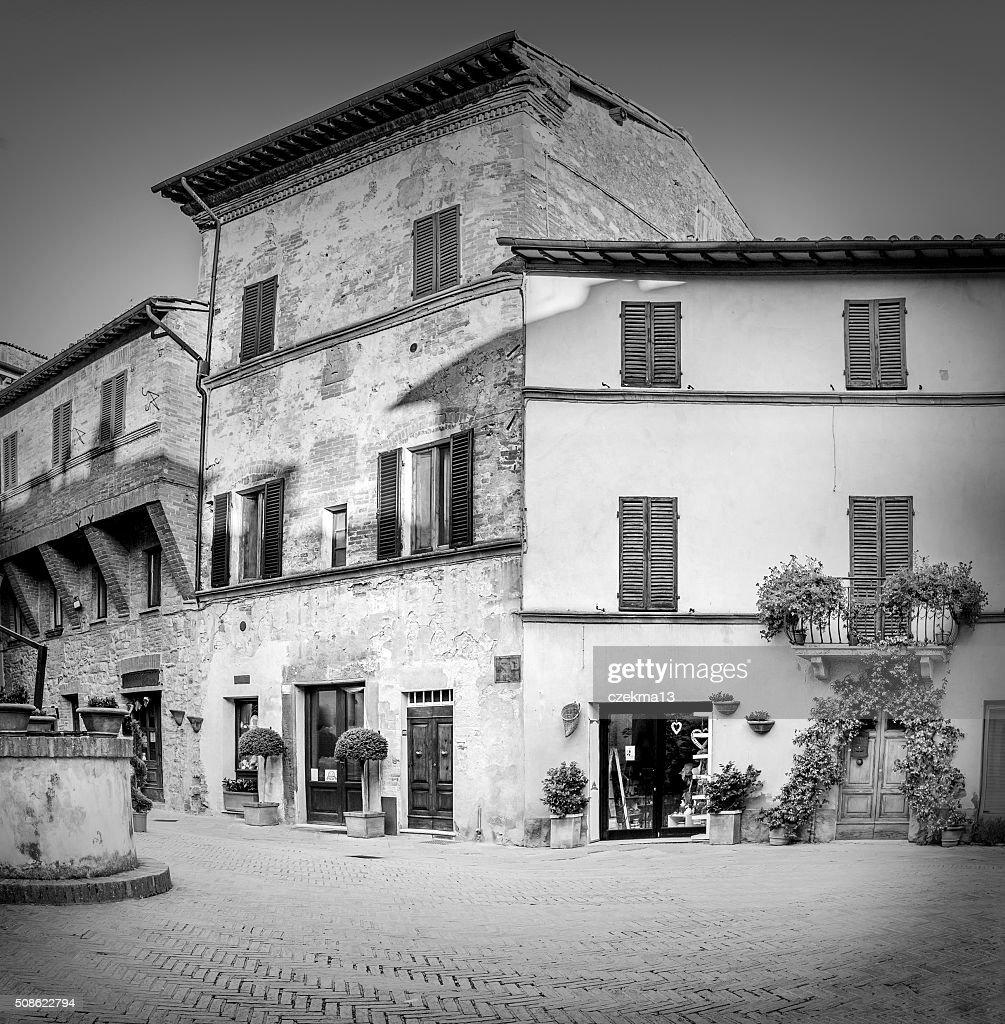 Pienza in Tuscany : Stock Photo