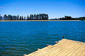 Pier and lake