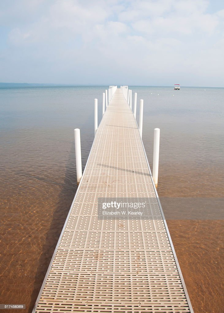 Pier at Lake Michigan
