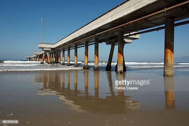 Pier at Marina Del Rey, California, USA