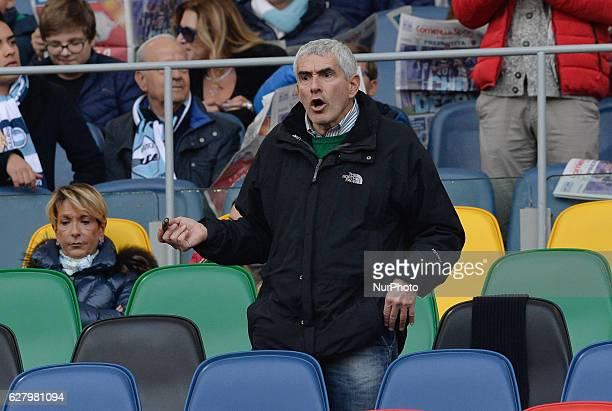 Pier Ferdinando Casini during the Italian Serie A football match between SS Lazio and AS Roma at the Olympic Stadium in Rome on december 04 2016