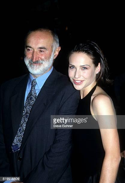 Pier Luigi Forlani and Claire Forlani at premiere of 'Meet Joe Black' New York November 2 1998
