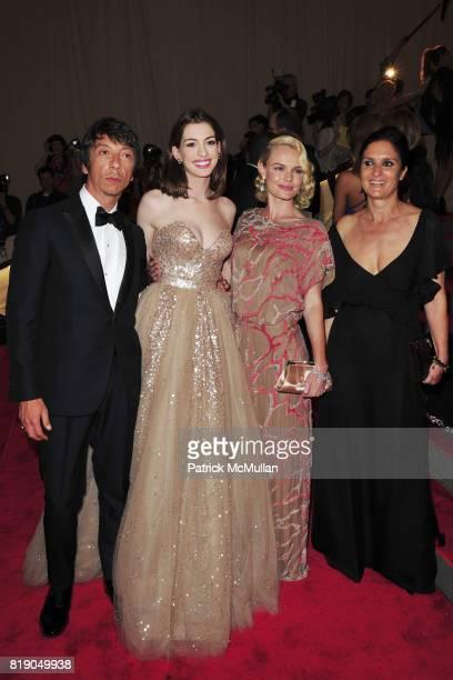 Pier Paolo Piccioli Anne Hathaway Kate Bosworth and Maria Grazia Chiuri attend THE METROPOLITAN MUSEUM OF ART'S Spring 2010 COSTUME INSTITUTE Benefit...