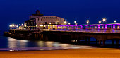 Bournemouth Pier at night