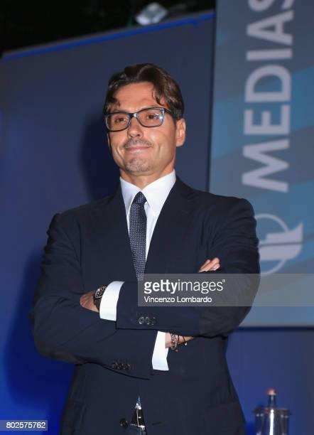 Pier Silvio Berlusconi attends the Mediaset Stakeholders Meeting on June 28 2017 in Milan Italy
