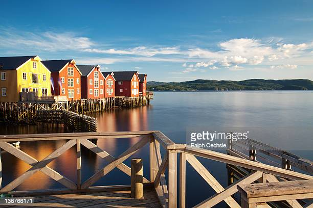 Pier view from Namsos