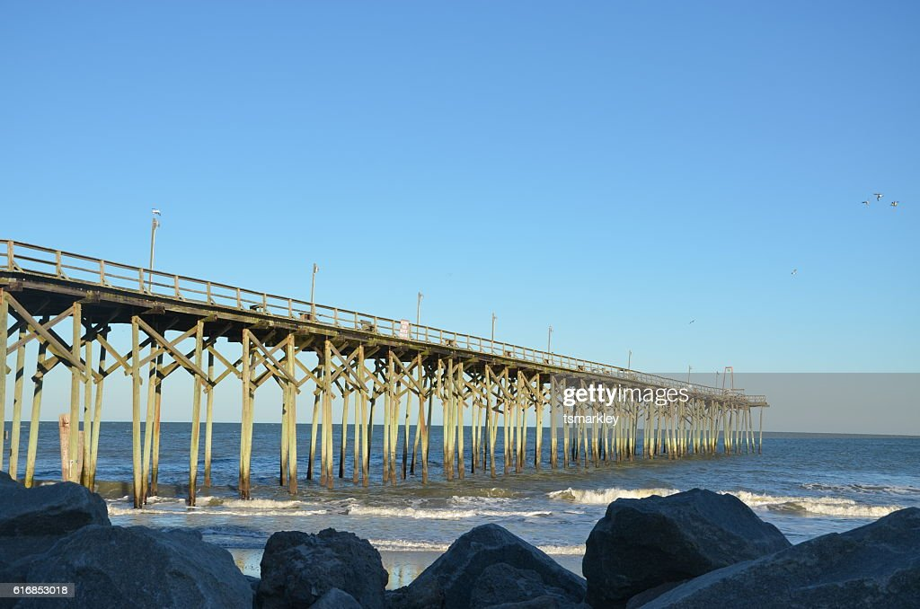 Pier view : Stock Photo