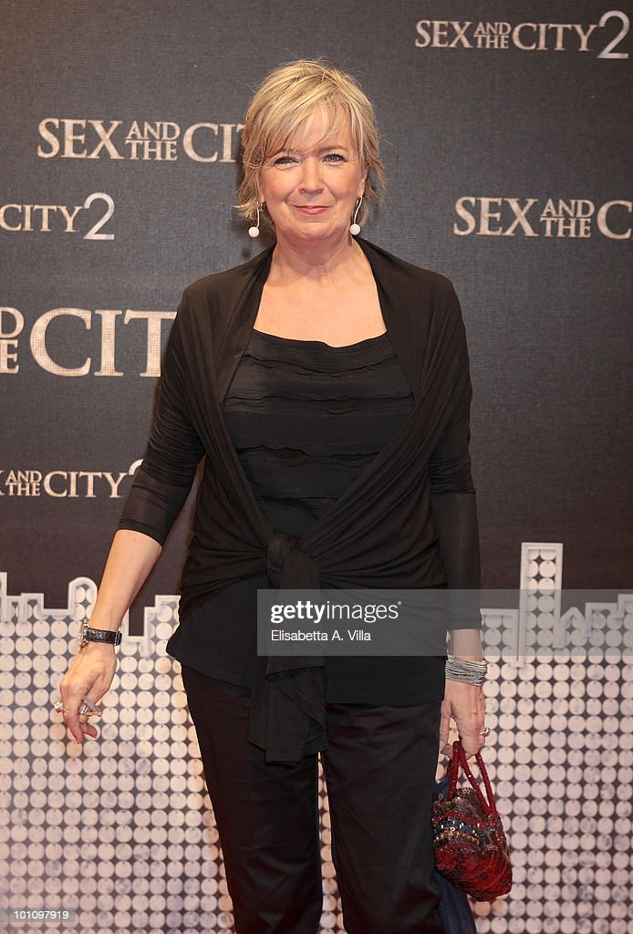 Piera Detassis attends 'Sex & The City 2' premiere at Warner Moderno Cinema on May 27, 2010 in Rome, Italy.