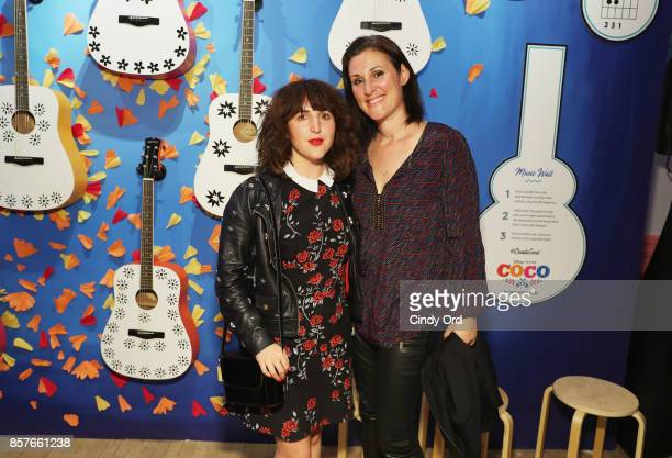 Piera Gelardi and Nicole Emanuel attend Brit Co Kicks Off Experiential PopUp #CreateGood with Allison Williams and Daphne Oz at Brit Co on October 4...