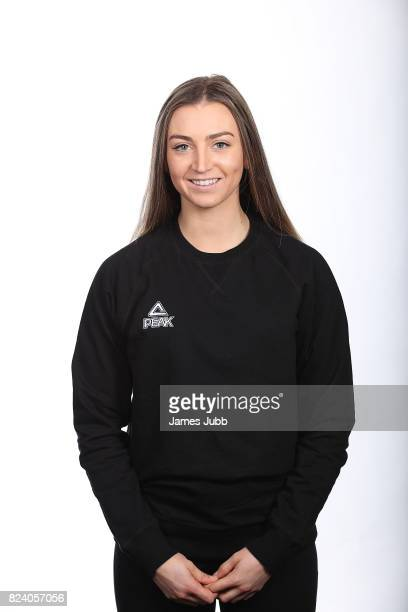 Piera Hudson poses during a New Zealand PyeongChang Olympic Winter Games Workshop at Lake Wanaka Centre on July 19 2017 in Wanaka New Zealand
