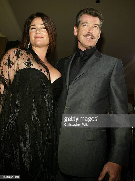Pierce Brosnan and Keely Shaye Smith during 8th Annual Green Cross Millennium Awards at St Regis Hotel in Century City CA United States