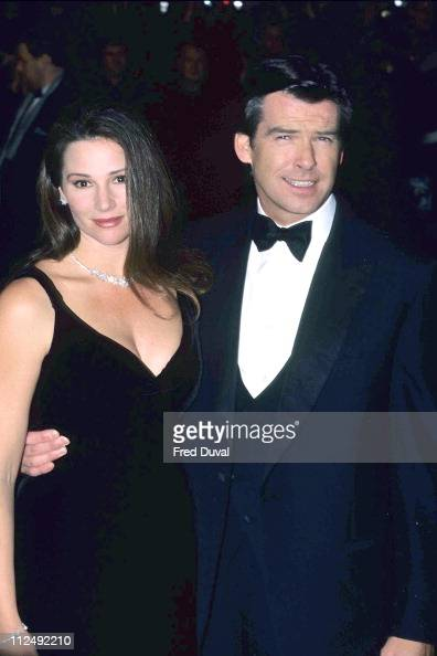 Pierce Brosnan and Kee...