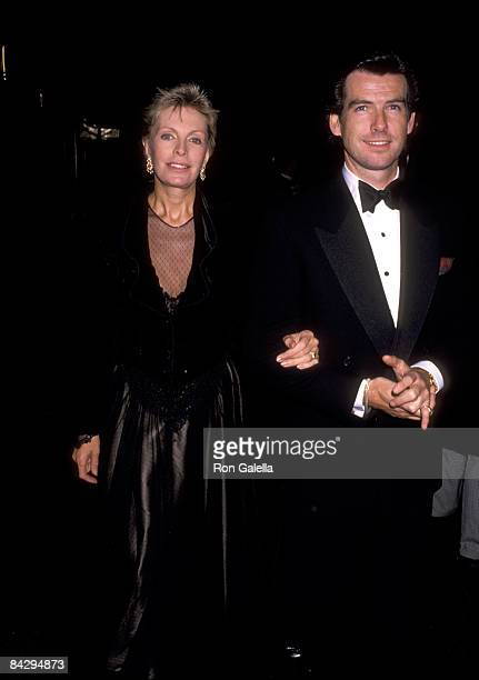 Pierce Brosnan and Wife Cassandra Harris