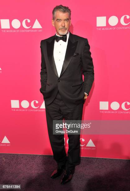 Pierce Brosnan arrives at the MOCA Gala 2017 at The Geffen Contemporary at MOCA on April 29 2017 in Los Angeles California