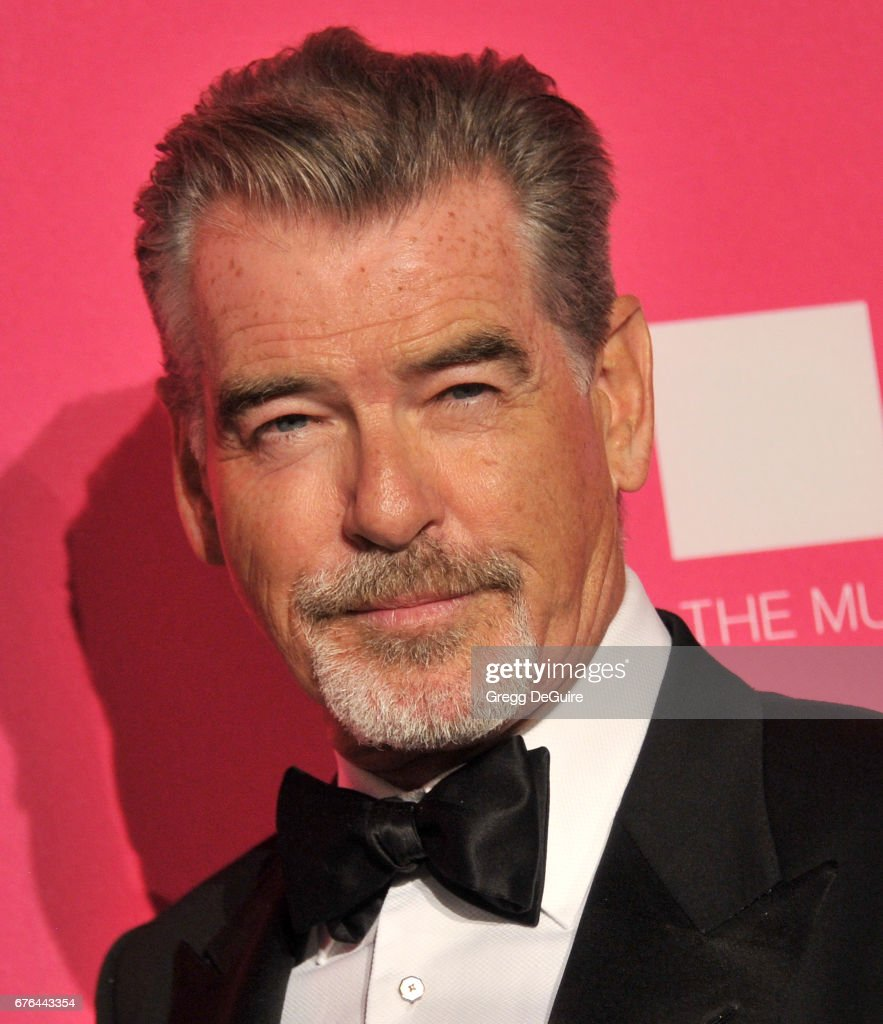 Pierce Brosnan arrives at the MOCA Gala 2017 at The Geffen Contemporary at MOCA on April 29, 2017 in Los Angeles, California.