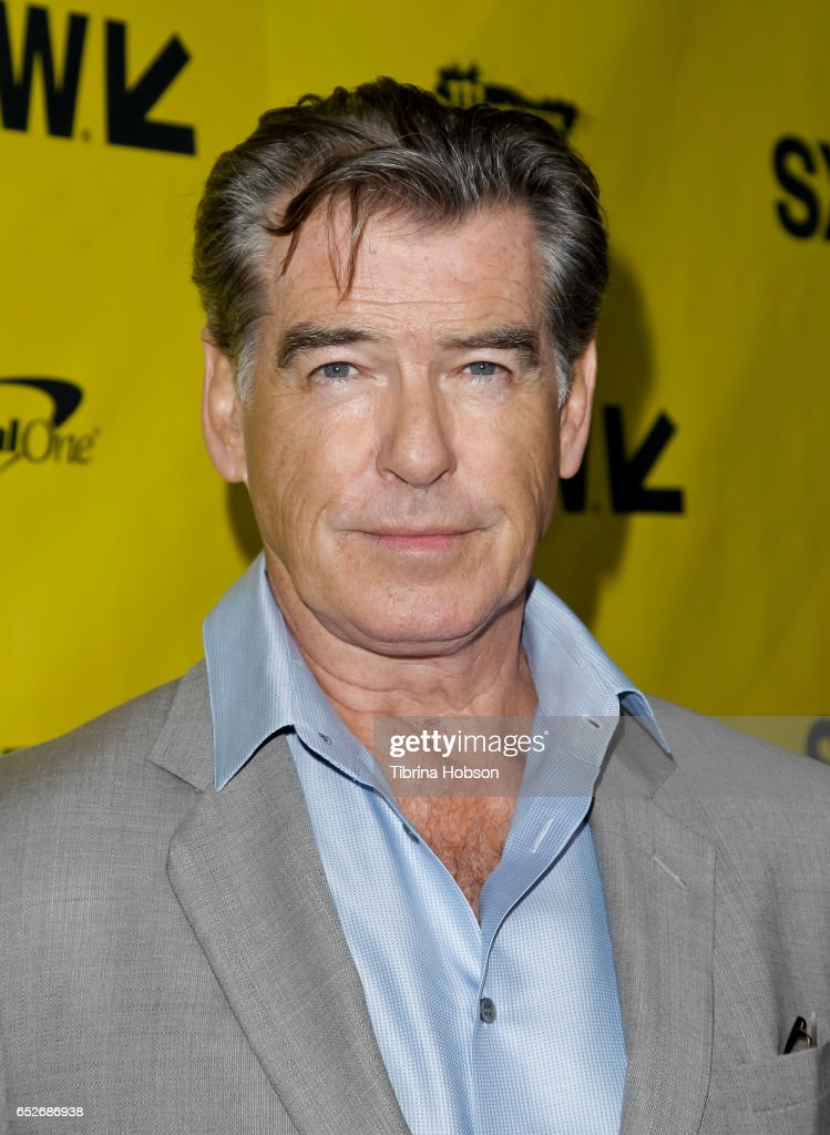 Pierce Brosnan attends AMC's 'The Son' premiere and panel with Pierce Brosnan, Philipp Meyer, Kevin Murphy on March 12, 2017 in Austin, Texas.