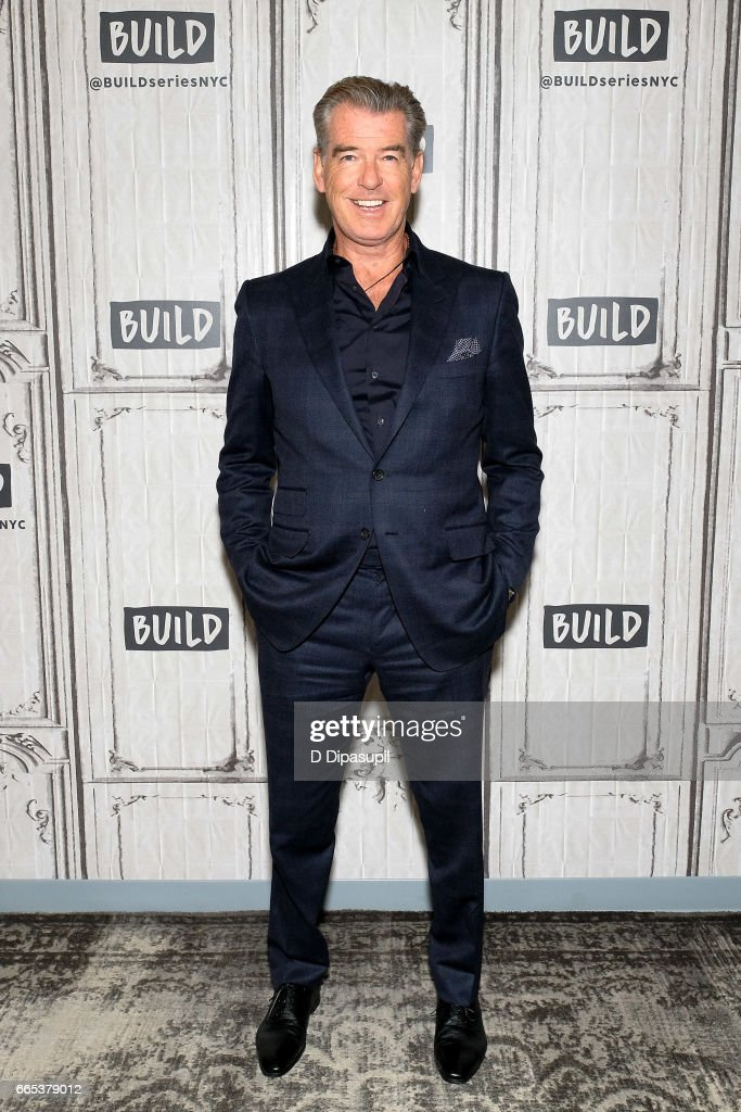 Pierce Brosnan attends the Build Series to discuss 'The Son' at Build Studio on April 6, 2017 in New York City.