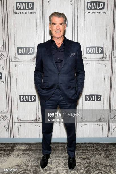 Pierce Brosnan attends the Build Series to discuss 'The Son' at Build Studio on April 6 2017 in New York City