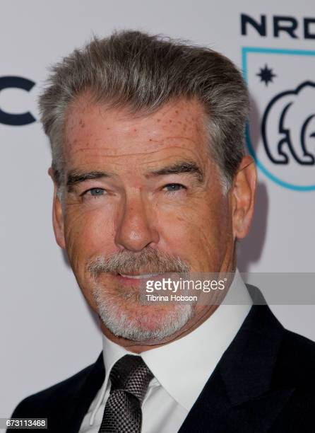 Pierce Brosnan attends the Natural Resources Defense Council's STAND UP event at Wallis Annenberg Center for the Performing Arts on April 25 2017 in...