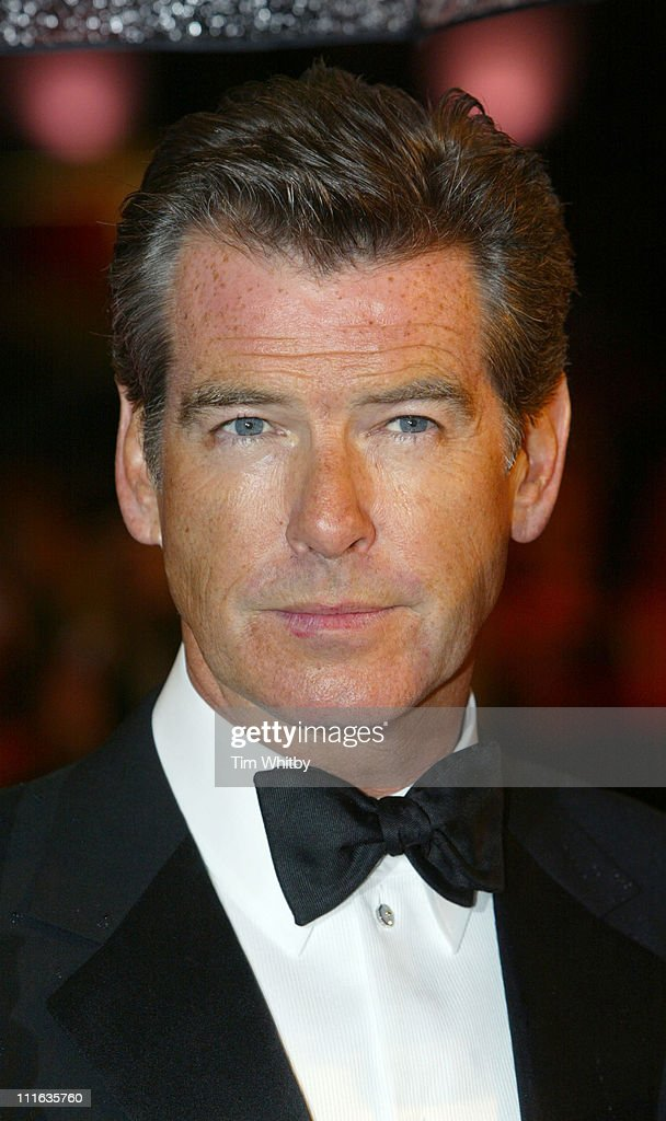 Pierce Brosnan during The Orange British Academy Film Awards 2006 - Outside Arrivals at Odeon Leicester Square in London, Great Britain.