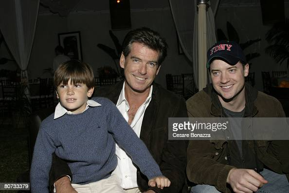 Pierce Brosnan his son Dylan...