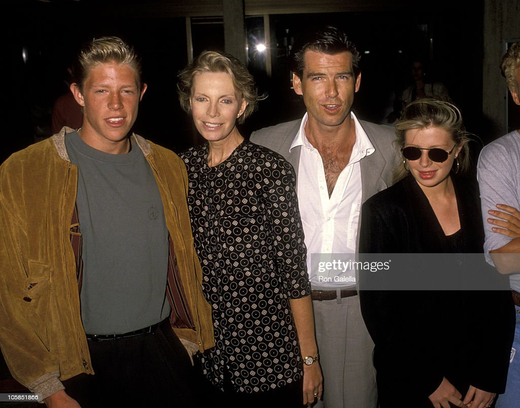 <a gi-track='captionPersonalityLinkClicked' href=/galleries/search?phrase=Pierce+Brosnan&family=editorial&specificpeople=194774 ng-click='$event.stopPropagation()'>Pierce Brosnan</a>, Wife Cassandra Harris, Son Christopher Harris, and Daughter Charlotte Harris