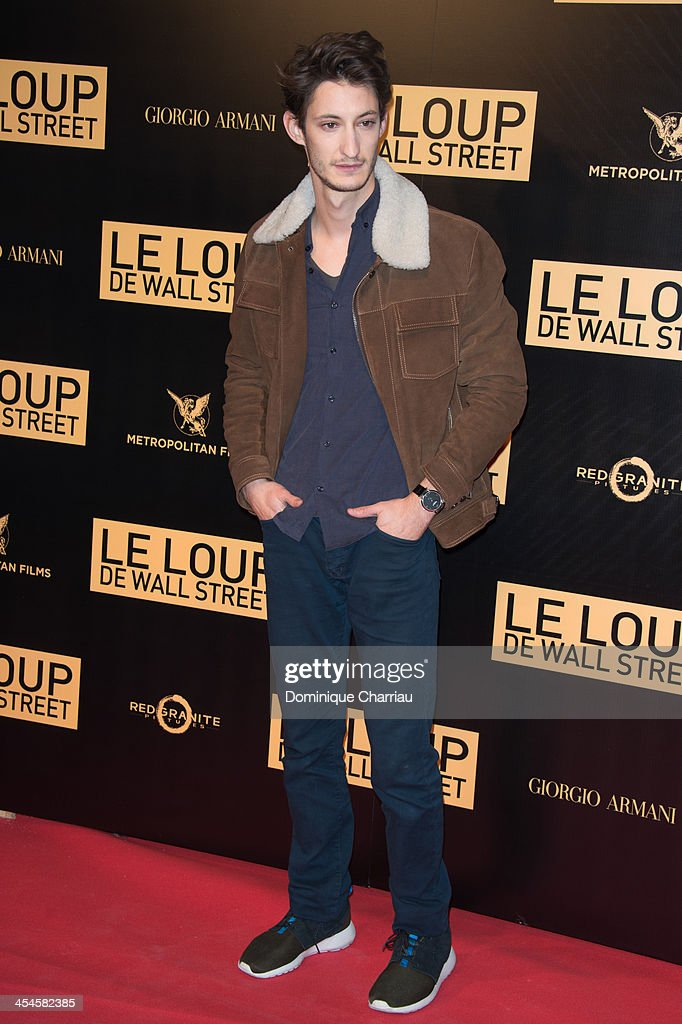 Piere Niney attends the' Wolf of Wall Street' Photocall At Cinema Gaumont Opera Capucines at Cinema Gaumont Opera on December 9, 2013 in Paris, France.