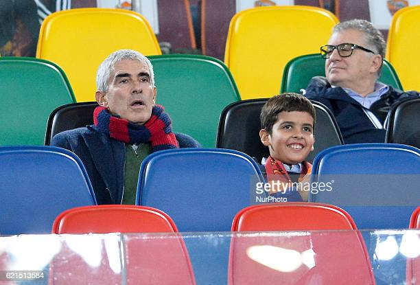 Pierferdinando Casini during the Italian Serie A football match between AS Roma and FC Bologna at the Olympic Stadium in Rome on november 06 2016