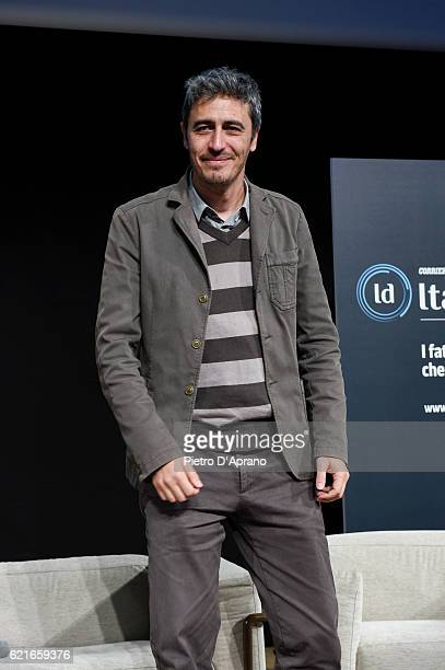 Pierfrancesco Diliberto Pif attends the 'Italia Digitale' Festival on November 7 2016 in Milan Italy
